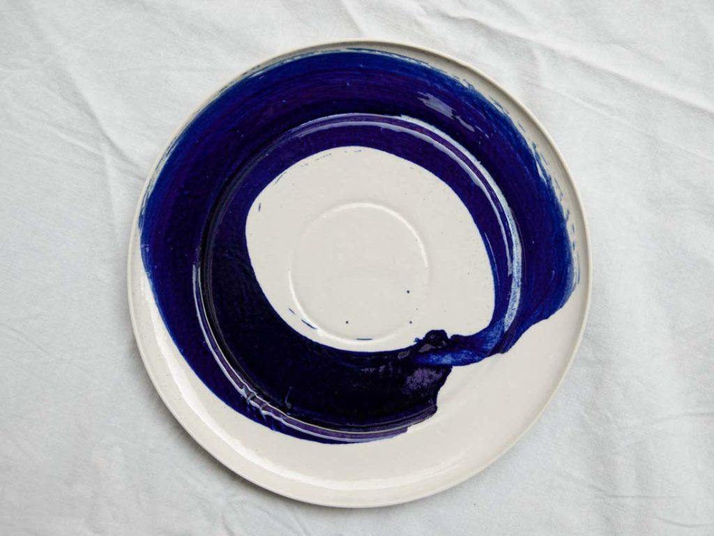 einzelstück blue - plate