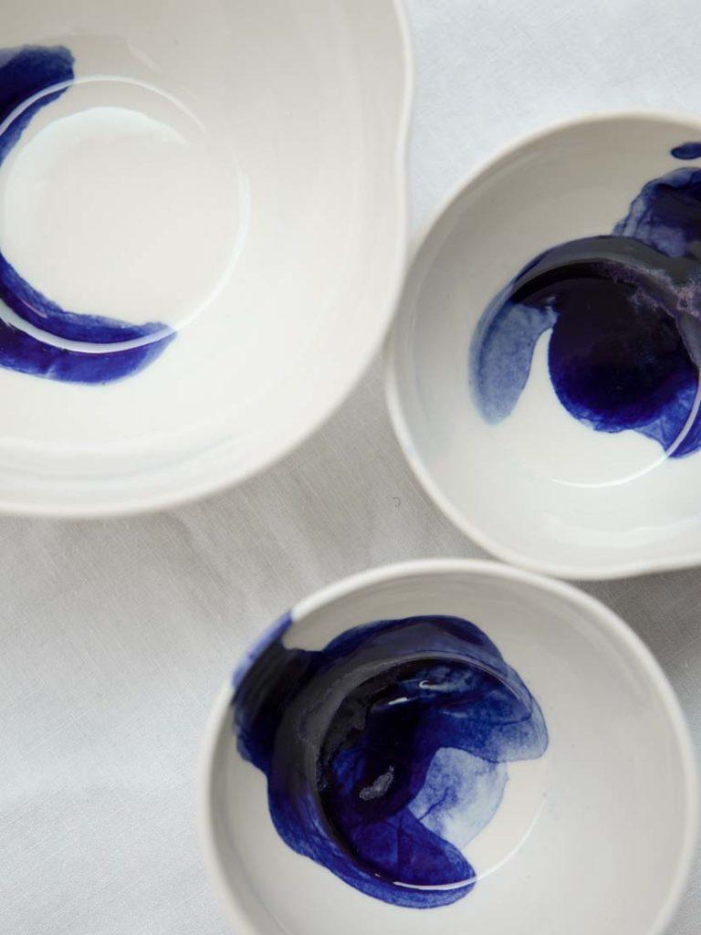 pipetti blue - kleine schale, mini schale, espresso cup