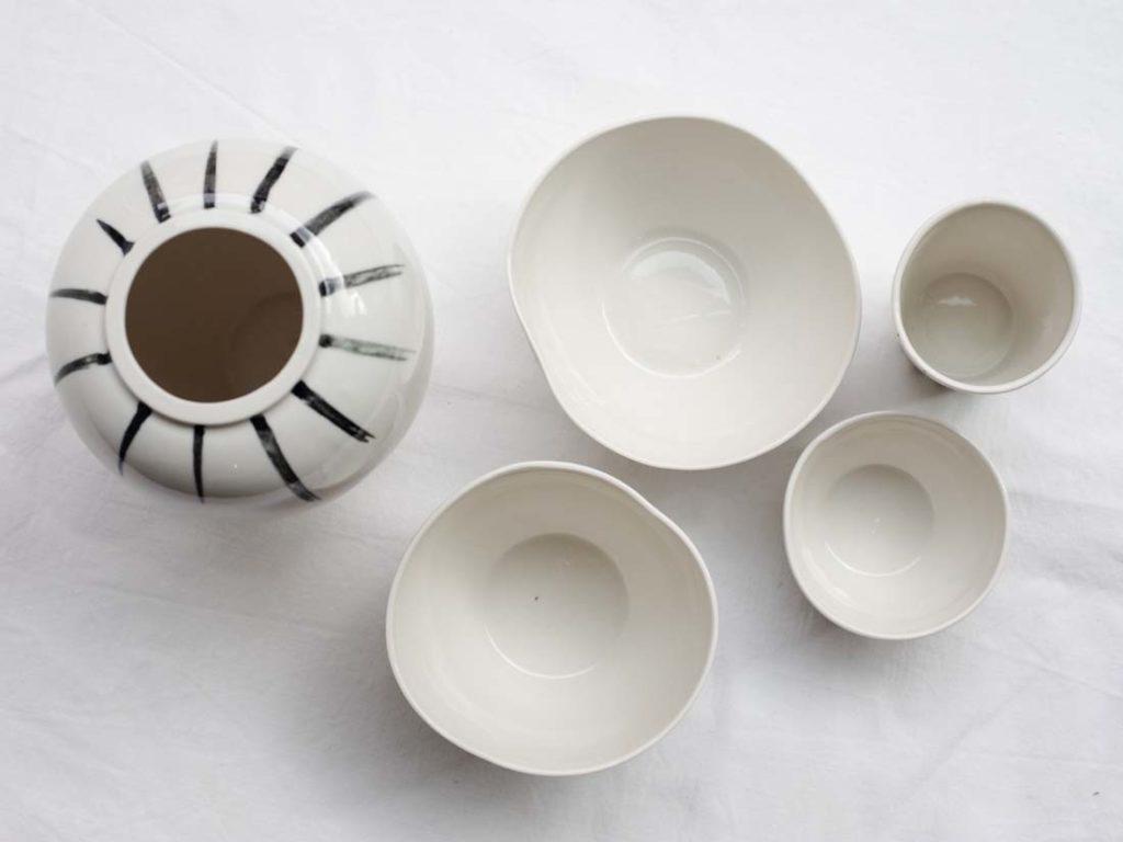 wooden lines - vase, becher, mini bowl, latte cup, kleine schale, mini schale, espresso cup
